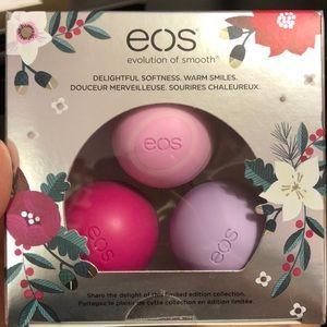 EOS Holiday Lip Balm Set 3 Pack
